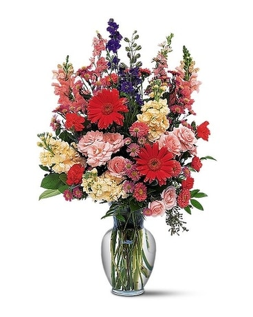 Medium Mixed Vase Arrangement Flower Arrangement
