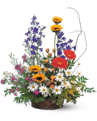 Parallel Arrangement Flower Arrangement