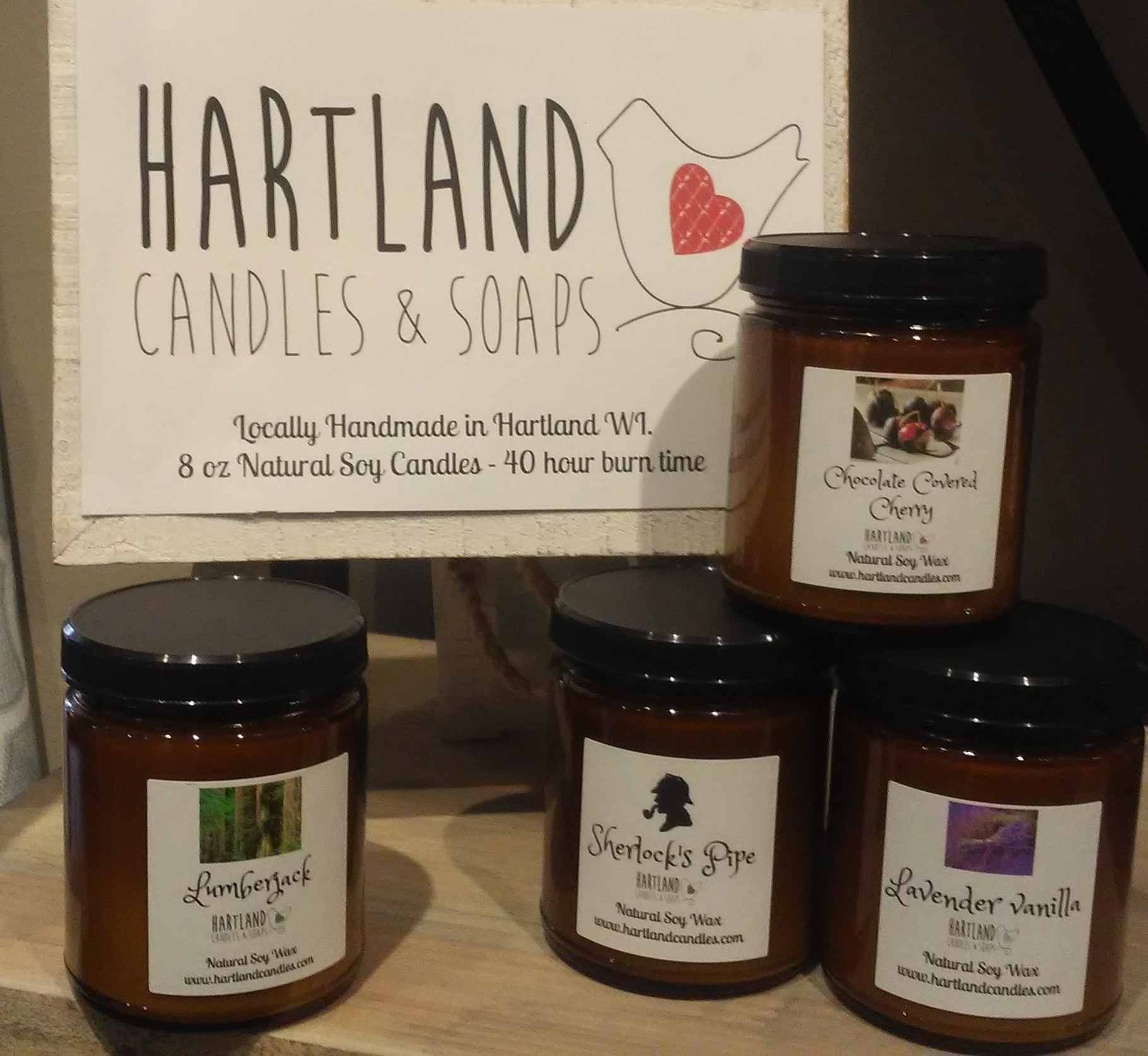 Candle by Hartland Candles
