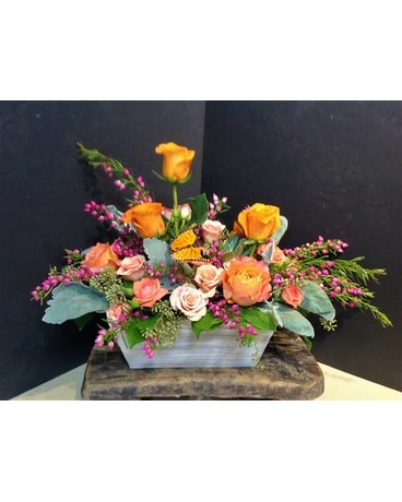 Mom's Rose Garden Flower Arrangement