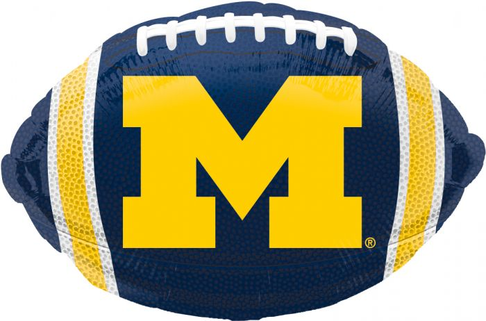 UofM Football Balloon