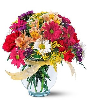 Joyful and Thrilling Flower Arrangement
