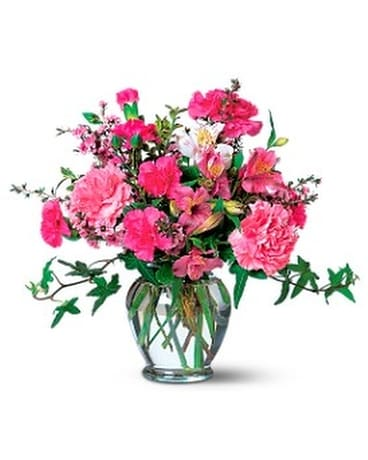 Cheerful Pinks Flower Arrangement