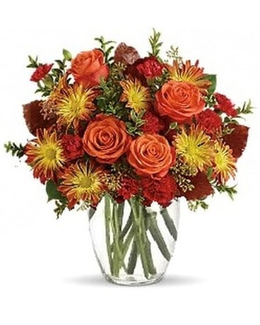 Fall Simplicity Flower Arrangement