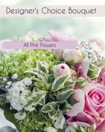 Designer's Choice in Pink Flower Arrangement