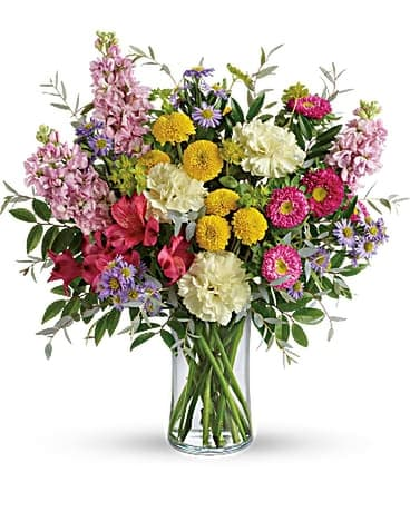 Designer's Choice , Seasonal Mix Flower Arrangement