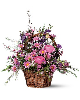 Basket of Blossoms - Flower Arrangement