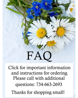 FAQ Flower Arrangement