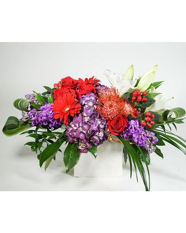 Mountain Berry Sorbet Flower Arrangement