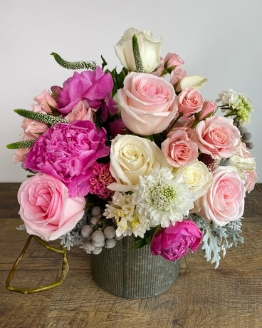 Pink Chic Flower Arrangement