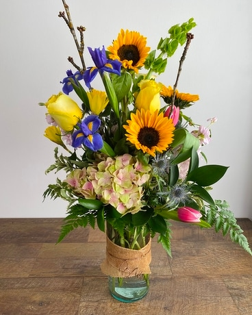Colorado Spring Flower Arrangement