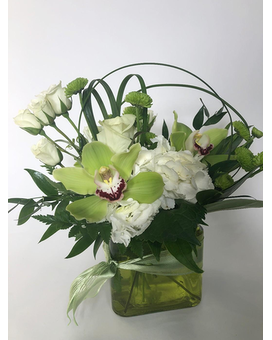 Luck of the Irish Flower Arrangement