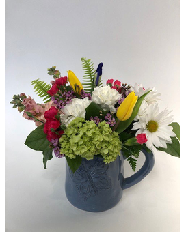 Springtime Vibes Flower Arrangement