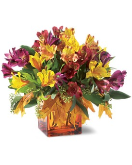 Teleflora's Autumn Alstroemeria Bouquet Flower Arrangement