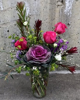 Wild at Heart Flower Arrangement