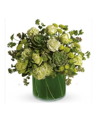 Natural Wonders with Succulents Bouquet