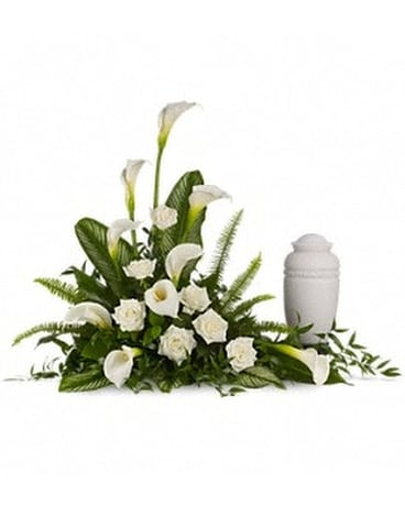Stately Lilies Flower Arrangement