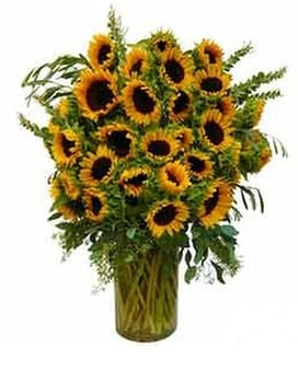 Sunflower Wow Flower Arrangement