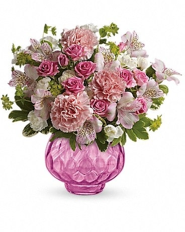 Teleflora's Simply Pink Bouquet Flower Arrangement