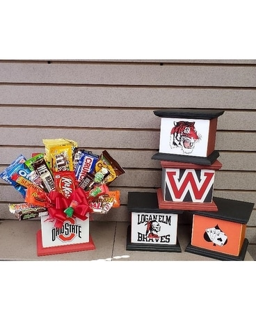 OSU Candy Bouquet