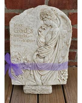 God's Angel Garden Stone Flower Arrangement