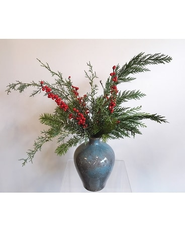 Cedar Flower Arrangement