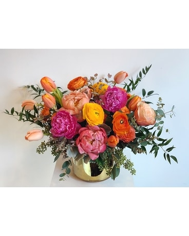 Songbird Flower Arrangement