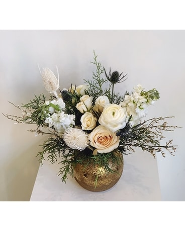 Snowbird Flower Arrangement