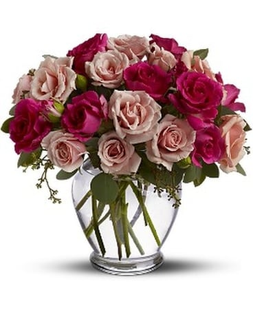 Spray Roses are Pink Flower Arrangement
