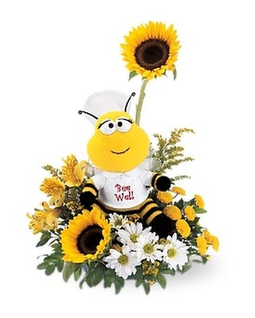 Bee Well Flower Arrangement