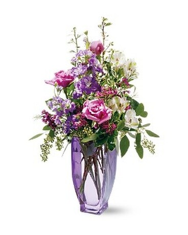 Teleflora's Amethyst Morning Bouquet Flower Arrangement