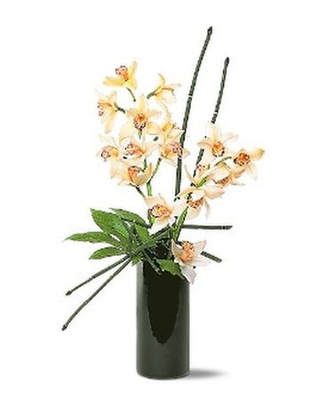 Artful Orchids Flower Arrangement