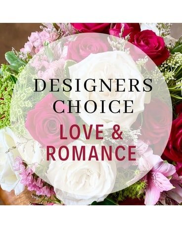 Designer's Choice Love and Romance Flower Arrangement