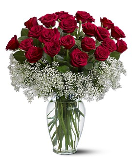 Field of Roses Flower Arrangement