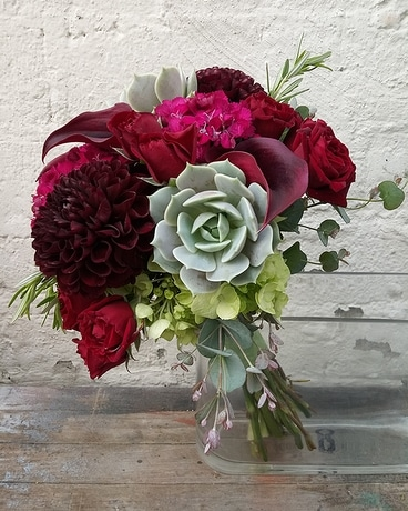 Wedding Party Flower Arrangement