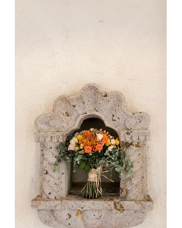 Wedding Ceremony Flower Arrangement