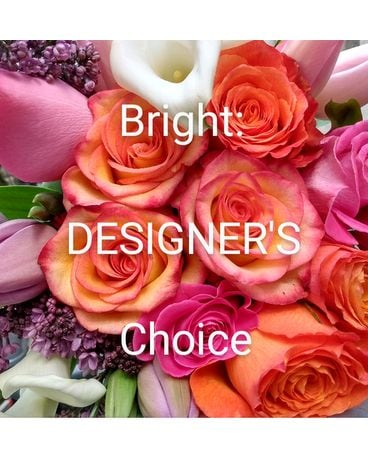 Bright Designer's Choice Arrangement