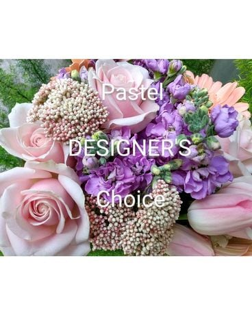 Pastel Designer's Choice Arrangement Flower Arrangement