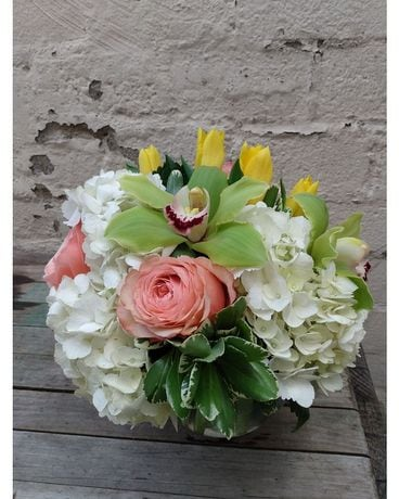 Brighten the Day Flower Arrangement