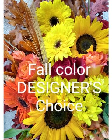 Fall Colors Designer's Choice Arrangement