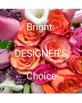 Bright Designer's Choice Arrangement Flower Arrangement