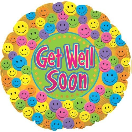Get Well Mylar (Style May Vary)