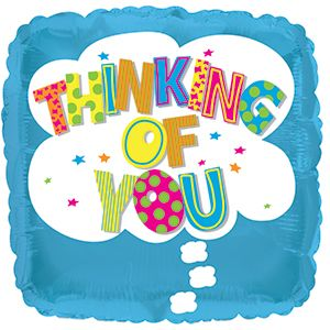 Thinking of You Mylar (Style May Vary)