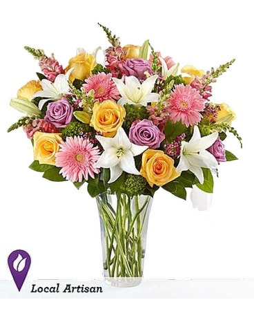 Sensational Spring Beauty Flower Arrangement