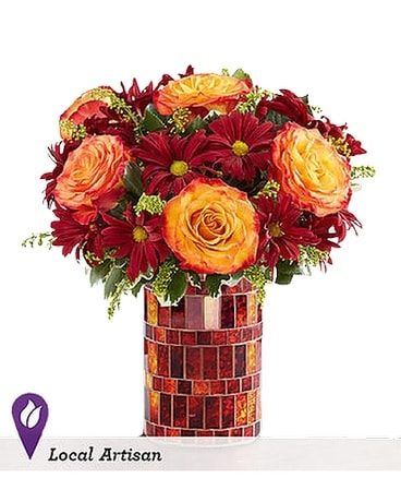 Amber Waves Flower Arrangement