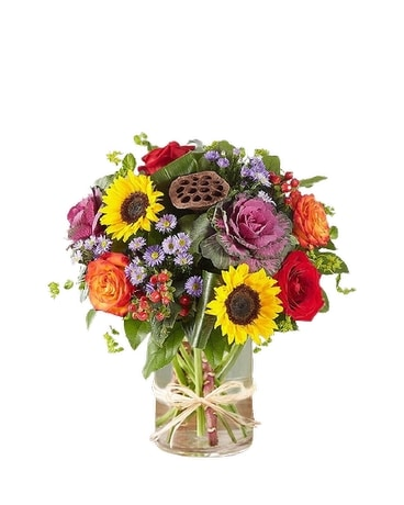 Garden of Grandeur Fall Flower Arrangement