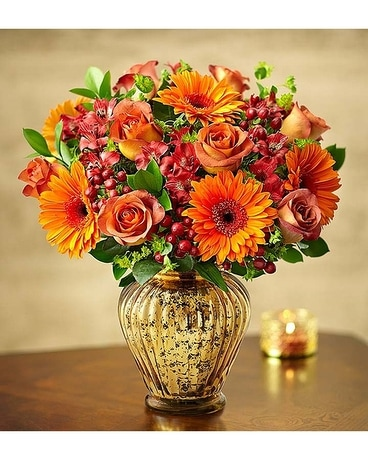 In Love with Fall Flower Arrangement