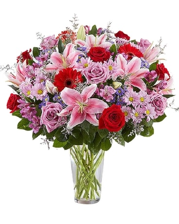 Adoring Love Bouquet Flower Arrangement