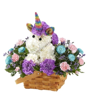 Enchanting Unicorn Flower Arrangement