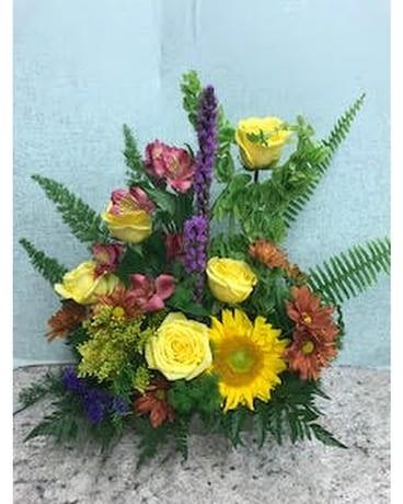 Urban Meadow Flower Arrangement ... & Urban Meadow in Knoxville TN - The Flower Pot